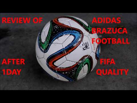 REVIEW : ADIDAS REPLICA BRAZUCA TRAINPRO FOOTBALL AFTER 1 DAYS PLAY