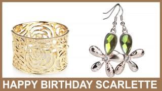 Scarlette   Jewelry & Joyas - Happy Birthday
