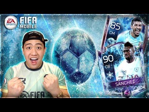 FIFA MOBILE 18 FOOTBALL FREEZE IS HERE!! FREEZE BUNDLE OPENING!! 90 OVR MASTER SANCHEZ!!