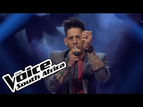 """Gavin Edwards sings """"Say Something""""   The Blind Auditions   The Voice South Africa 2016"""