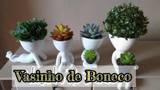 Aprenda Fazer Vaso Bob Decoração do BBB