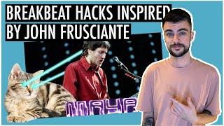 """UK Breakbeat HACK Inspired By John Frusciante """"Brand E""""   Ableton Live 10 Tutorial"""