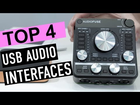 best 4 usb audio interfaces 2019 youtube. Black Bedroom Furniture Sets. Home Design Ideas