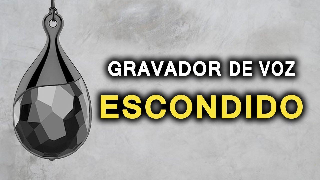 f14720f2d6a DESCUBRA O GRAVADOR ESPIÃO MAIS DISCRETO DO MOMENTO - YouTube