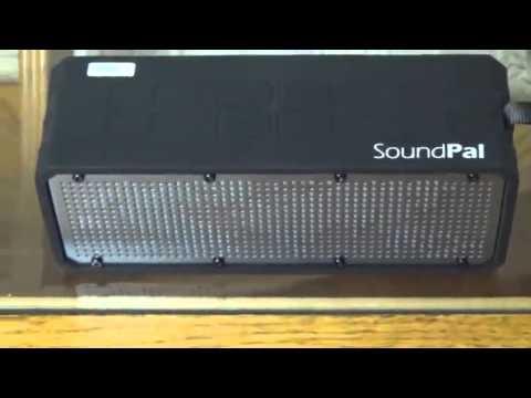 SoundPal Free Spirit 12 Watt Rugged Bluetooth Water Resistant Shockproof Wireless Speaker Review
