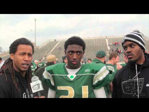 Parris Campbell Jr.  - St. Vincent St. Mary RB OHSAA Div III State Championship *Postgame