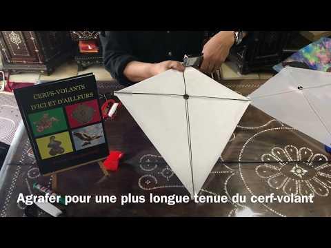 MONTAGE D'UN CERF-VOLANT À DÉCORER