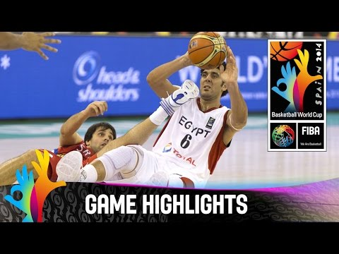 Egypt v Serbia - Game Highlights - Group A - 2014 FIBA Basketball World Cup