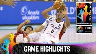 Egypt v Serbia - Game Highlights - Group A - 2014 FIBA Basketball World Cup