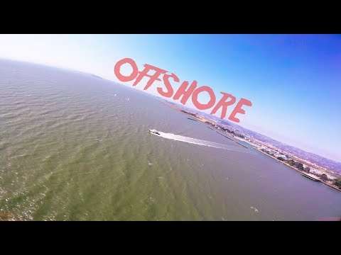 Offshore - long range fpv flight into the San Francisco Bay