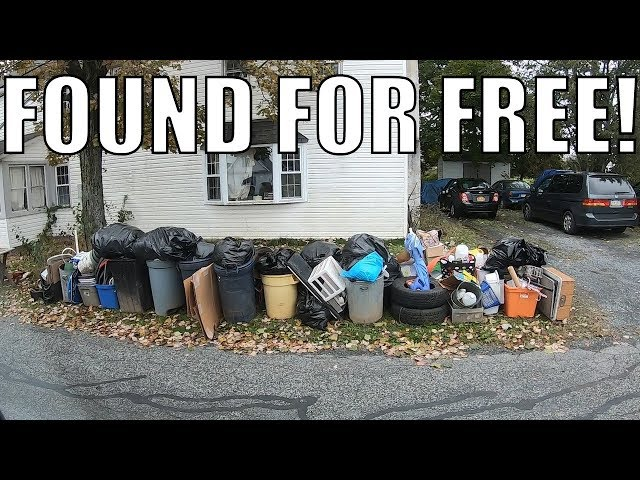 I CAN'T BELIEVE I FOUND ALL OF THIS IN THE TRASH! Trash Picking Ep. 94