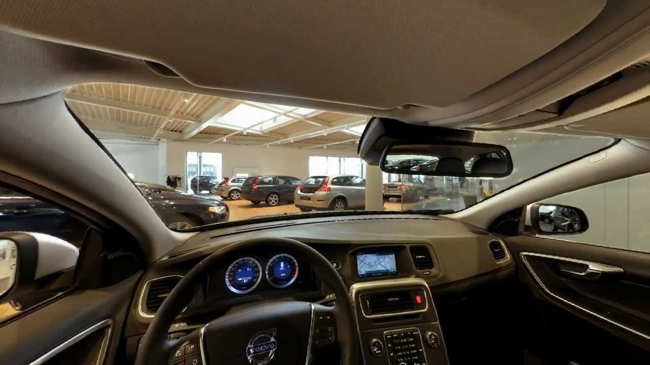 Volvo V60 - panorama foto interieur - YouTube