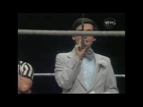 "Gary Michael Cappetta - ""Joe McHugh Introduction"" - WWF All Star 1981"