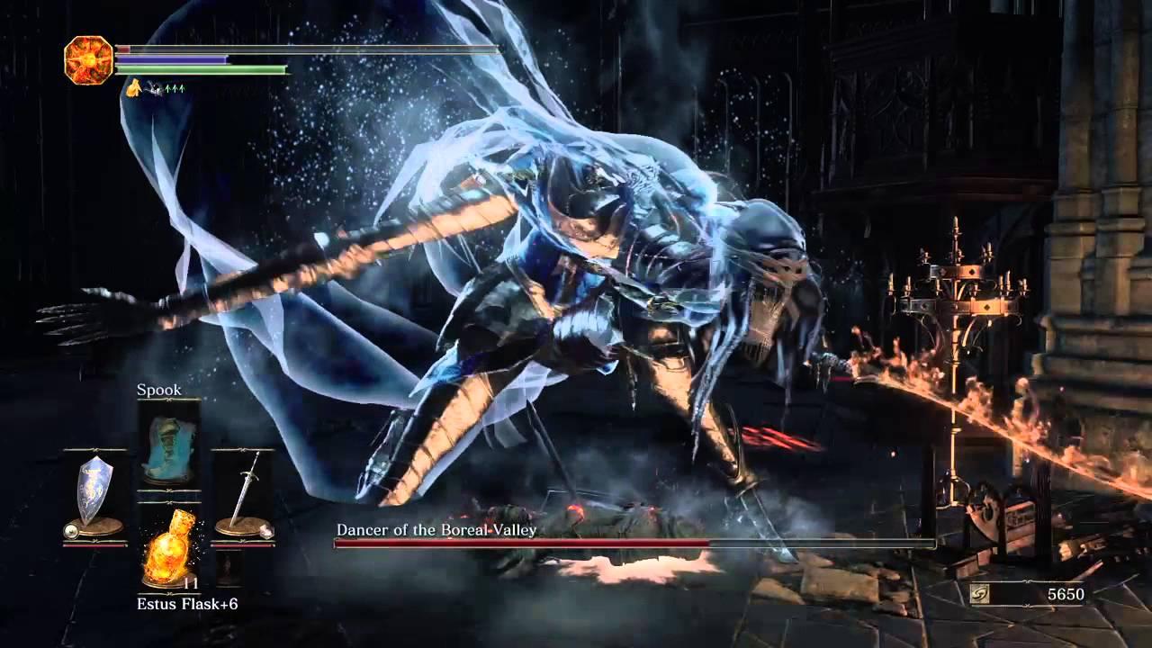Dark Souls Iii Dancer Of The Frigid Valley Youtube