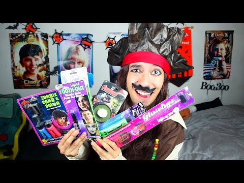 Probando Productos de Halloween 2 (Me PINTO el PELO de ROSADO) - Ami Rodriguez