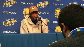 San Francisco Examiner Sports: Kevin Durant Talks Draymond Green suspension