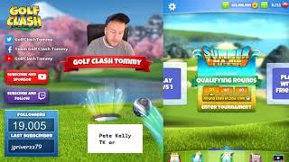 Golf Clash tips, Walkthrough of the Summer Major Tournament - Porthello Cove!