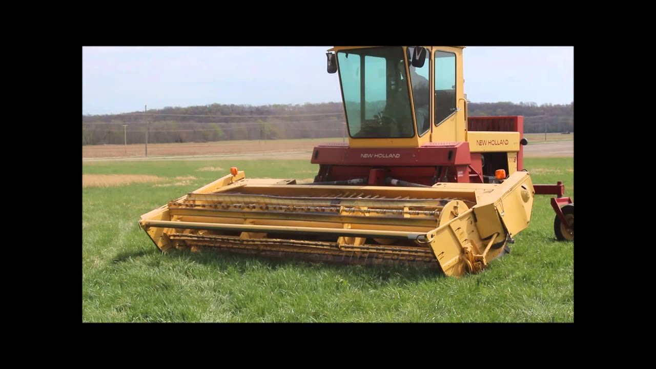 1990 New Holland 1118 swather for sale   sold at auction May 14, 2014