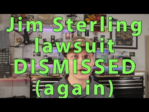 Digital Homicide v. Jim Sterling Lawsuit DISMISSED for good, and why Jim's a great guy
