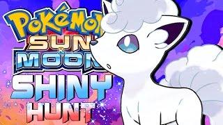 shiny hunting alolan vulpix pokemon sun and moon shiny alolan vulpix