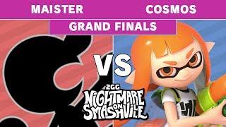 2GG NoS - Anahuac   Maister (Game & Watch) VS PG   Cosmos (Inkling) - Smash Ultimate - Grand Final