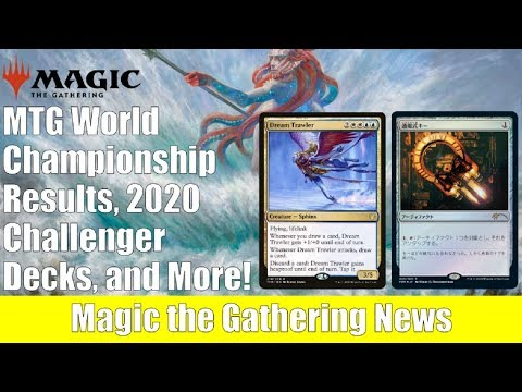 MTG News: 2020 Challenger Decks, World Championship Results, And More