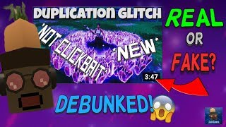 All *NEW* Fortnite Duplication Glitches EXPLAINED!