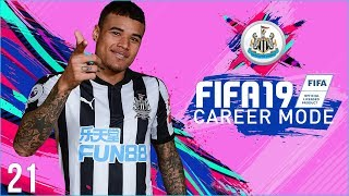 FIFA 19 Newcastle Career Mode Ep21 - REALLY EXCITING NEW PLAYERS!!