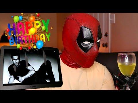 Deadpool Wishes Ryan Reynolds a Happy Birthday on Omegle