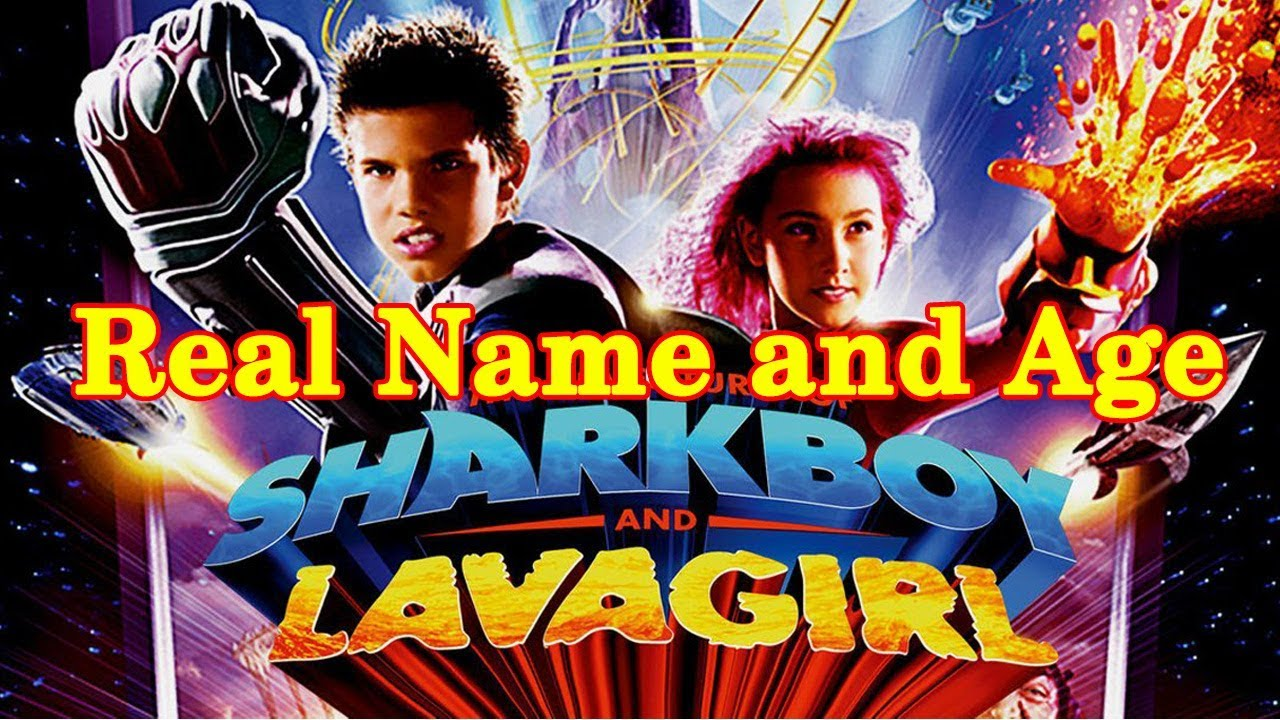 Sharkboy and Lavagirl 💠 Real Name and Age - Star News ...