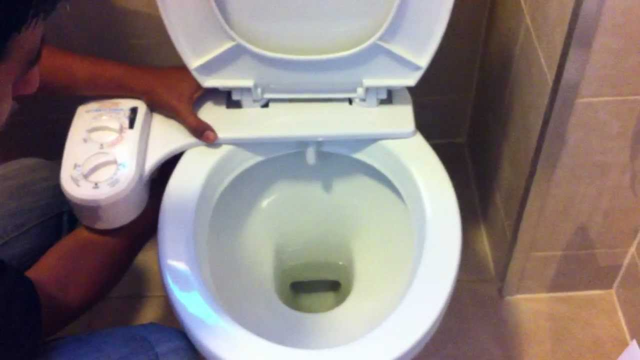 Hydro Cleanse Bidet Installation Video Youtube
