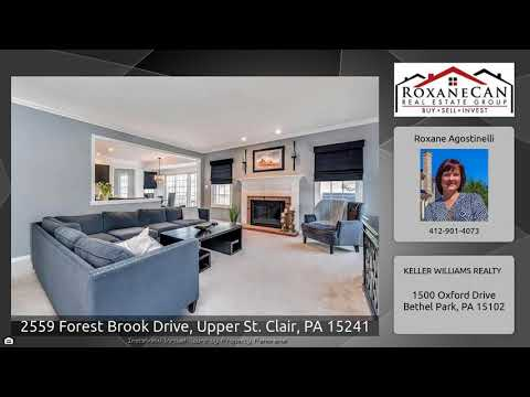 2559 Forest Brook Drive, Upper St. Clair, PA 15241 | MLS# 1327296