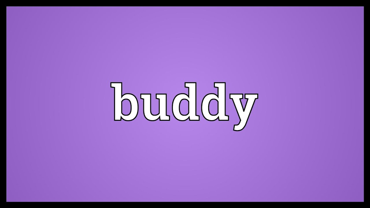 Buddy Meaning