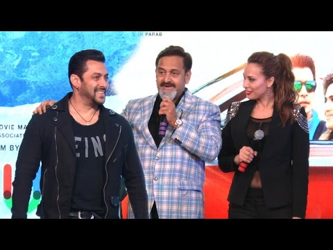 Salman Khan & Girlfriend Iulia Vantur At Mahesh Manjrekar's Music Album Rubik's Cube Launch