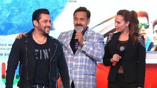 salman khan girlfriend iulia vantur at mahesh manjrekars music album rubiks cube launch
