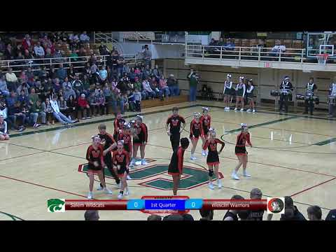 December 15 2017 Salem vs Wesclin boys basketball