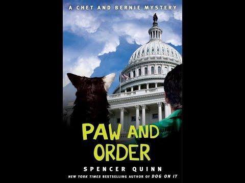 """Spencer Quinn, novelist, """"Chet the Dog"""" series"""