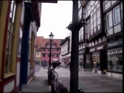 Spaziergang in Wolfenbüttel durch die City und vom Marktplatz zum Bahnhof