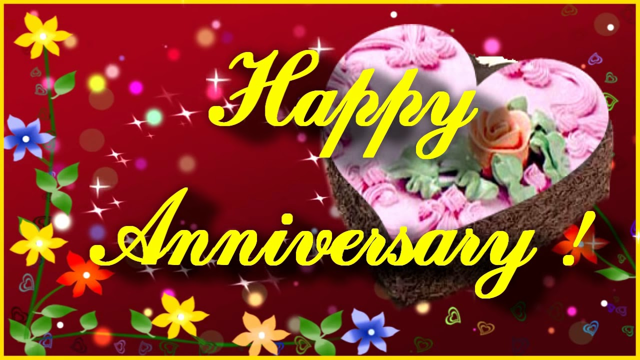 Free Happy Anniversary Greeting Card Anniversary Video Ecard Youtube