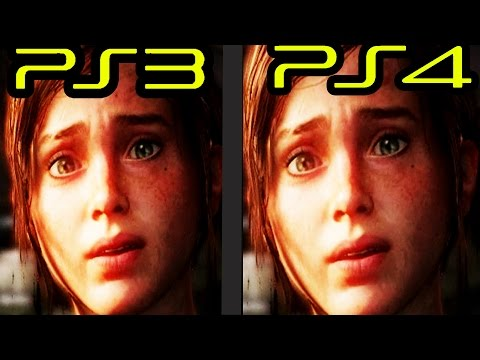 Is The Last Of Us Really Remastered?  PS3 Vs PS4