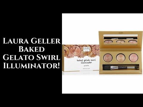 Laura Geller Baked Gelato Swirl Illuminator Palette!