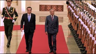 Dr Mahathir holds talk with Li Keqiang in Beijing