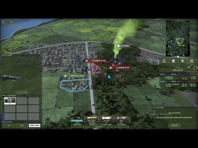 Lluvia de napalm | 2vs2 | Wargame Red Dragon | #35