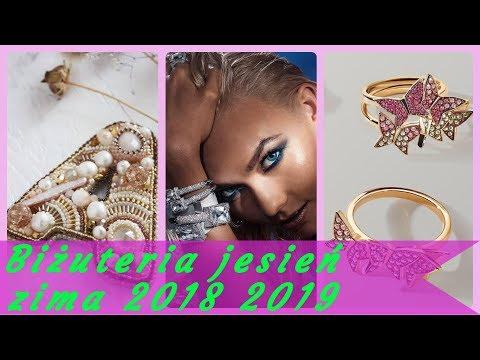 Modna 💋 biżuteria damska jesień zima 2018 2019 - YouTube