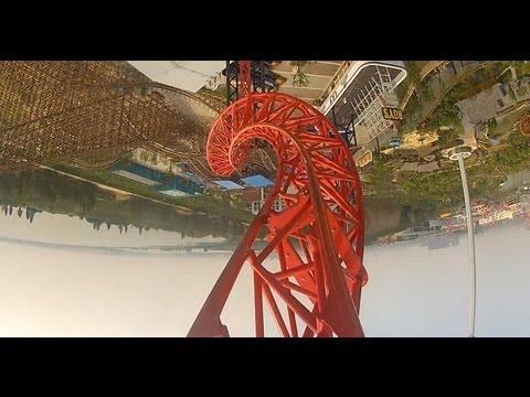 Hidden Anaconda Roller Coaster POV Maurer Söhne Sky Loop Happy Valley Wuhan