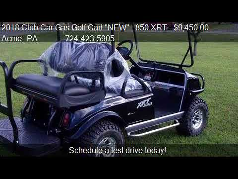 2018 club car gas golf cart new 850 xrt for sale in acme youtube. Black Bedroom Furniture Sets. Home Design Ideas