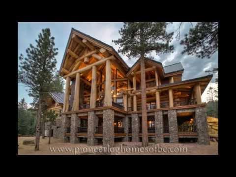 Очень красивые дома из дерева