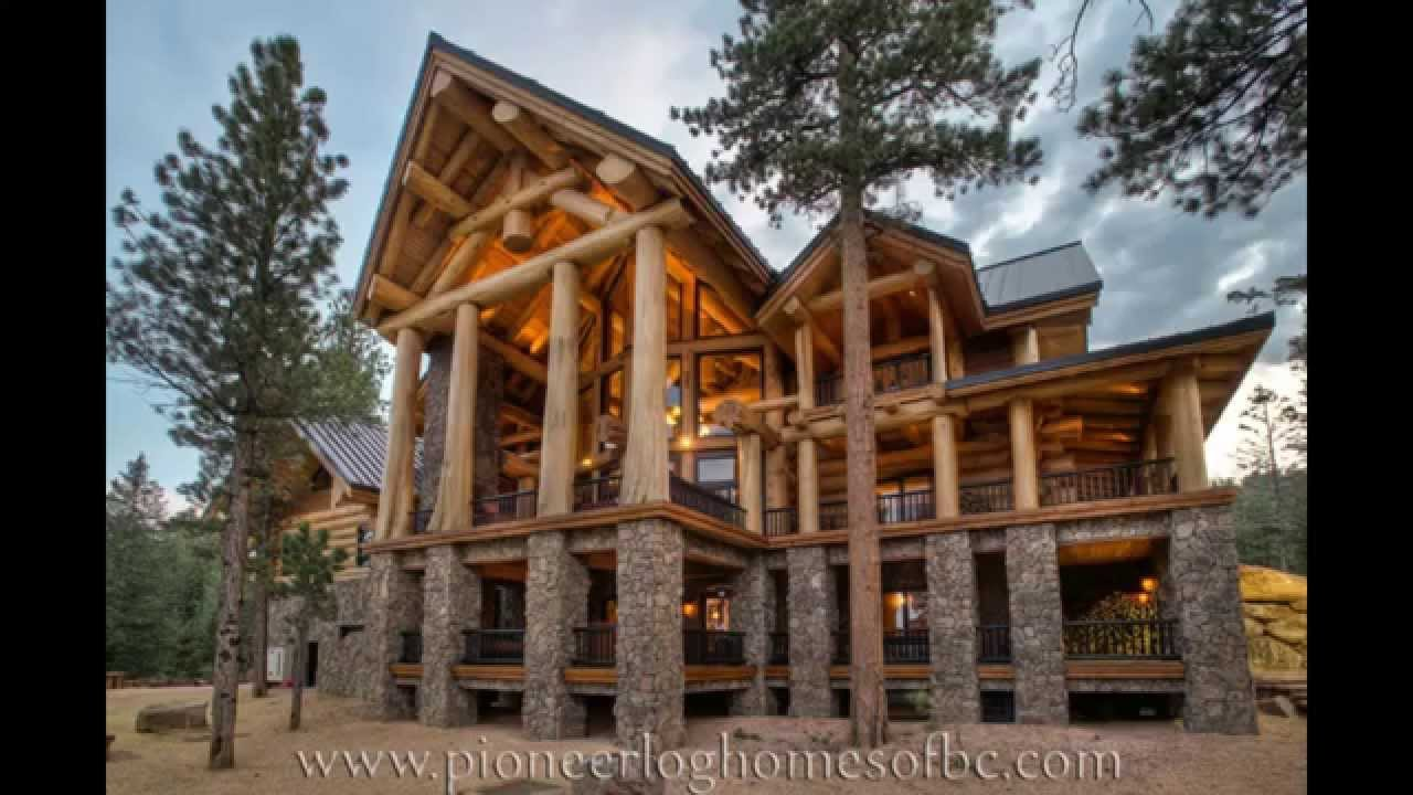 дома красивые из дерева фото
