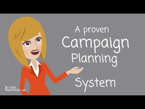 Marketing Campaign Training - Planning in 3-Steps