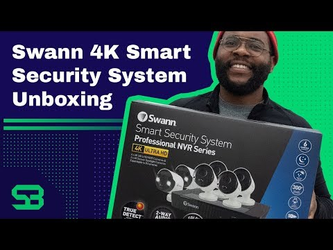 Swann 4K Smart Security System Unboxing